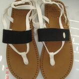 Босоножки вьетнамки на шнурках р. 39