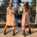Кашемировое пальто 42 44 46 размеры 3 цвета