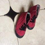 Стеганные ботиночки для деврчки