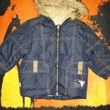 Зимняя куртка Lenne на мальчика.