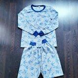 Размер 8-10 Красивая фирменная флисовая пижама домашний костюм