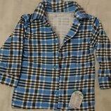 Рубашка байковая на мальчика 80-134 р. Украина