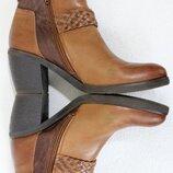 Кожаные ботильоны ботинки казаки Мam'zelle Англия
