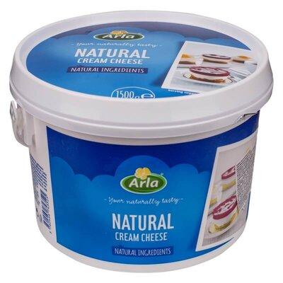 Сир-Крем Arla Buko натуральний відро 25% 1500г Данія х4 Arla Сыр «Arla» Buko нежный кремовый сыр,