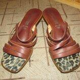 Кожаная обувь Италия