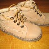 Детские ботинки 26 размер - 16.5 см