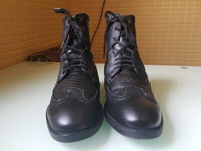 Кожаные мужские фирменые ботинки Nobrand original
