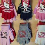Комплект перчатки пара Китти Дисней