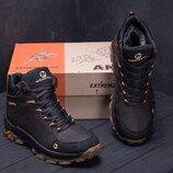 Зимние кожаные ботинки M кор.бот