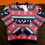 новогодний свитер H&M / кофта