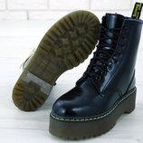 Женские ботинки Dr.Martens Black JADON кожа, Зима
