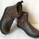 Мужские сапоги Levi s Levi Strauss Winter угги кожаные UGG коричневая кожа