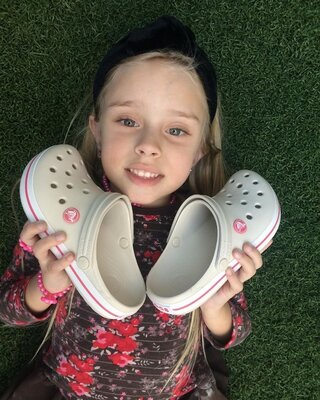 крокс детские сабо тапочки Crocs Crocband Clog 204537-1AS Stucco/Melon