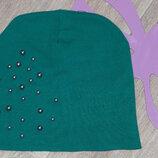 Трикотажная шапка 5-7л