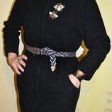 Черное пальто Dolce & Gabbana