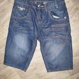 Шорты мужские джинсовые S наш 46 размер