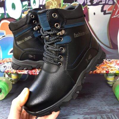 Высокие зимние ботинки для мальчика, код 782