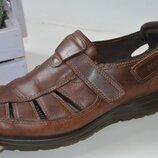 Кожаные сандали Ecco р. 42 по стельке 27 см