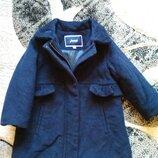 Пальто шерстяное Jacadi,пальтишко,плащик,пальтішко Paris