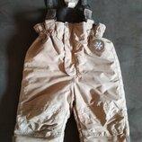 Полукомбинезон H&M, зимние штаны, зимовий комбінезон Reima, Lenne