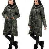Новиночки Классное пальто- зима, размеры 44- 50