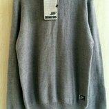 Худи свитер с капюшоном подростковый вязанный джемпер на мальчика 11-12 лет рост 152 см Jeff Дания