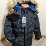 Куртки зимові на меху для хлопчиків Nature. Венгрія. 2-9 років