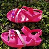 детские сандалии Crocs Lina Sandal босоножки лина детские босоножки крокс Оригинал размер с10
