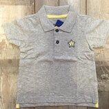 62-68, 74-80, футболка поло на малыша от lupilu