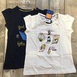 86-96, комплект футболок на девочку от lupilu