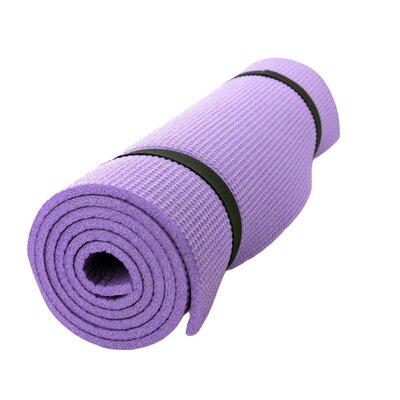 Коврик каремат для йоги фитнеса и спорта 60х180 см