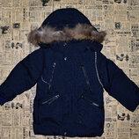 Куртка парка зимняя для мальчиков