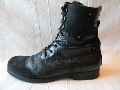 Мужские кожаные ботинки Zign р.44----30,5см Португалия