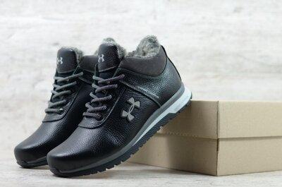 Мужские кожаные зимние ботинки/кроссовки цена 1300 грн. Код U 45 сер Сезон зима Тип ботинки/кр