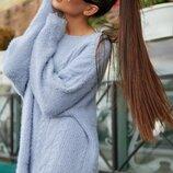 Стильный вязаный свитер 5763.