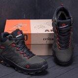 Зимние кожаные ботинки M ол.бот