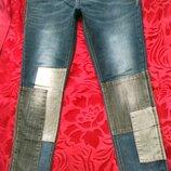 Женские джинсы от бренда Next. Размер 12 , идут на Л. Замеры пот 42,5 см, поб 49 см, длина по боков