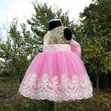 Детское нарядное платье зыфирка