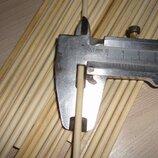 4 мм Деревянные палочки круглые
