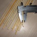 5 мм Деревянные палочки круглые