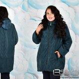 Демисезонная куртка, супербатал, большой размер 58, 60, 62, 64, 66, 68, 70
