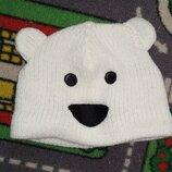 Милота Шапка Демисезонная тепленькая Мишка с ушками В хорошем состоянии Симпатичная шапочка. Очень