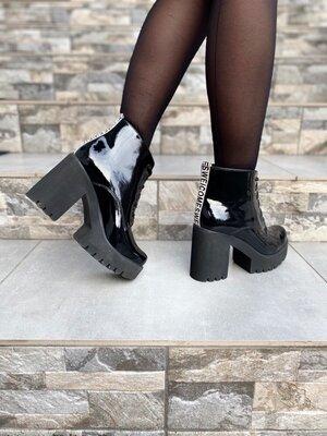 Ботинки женские кожаные Kluchini натуральные