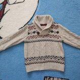 Модный свитер REBEL на 2-3 года