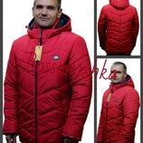 48-62 Мужская зимняя куртка. Куртка с капюшоном. мужская куртка. Чоловіча зимова куртка