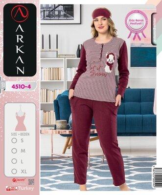Пижама трикотаж четыре расцветки