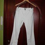 Белые брюки 38 евроразмер, наш 42-44 от La Redoute, Франция