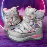 Термо ботинки для девочки Том. м, код 788