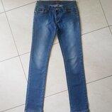 Джинсы женские, голубые, S-М, 44-46