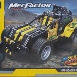 Конструктор Decool 3806 Аналог Lego Technic Внедорожный гонщик 392 детали